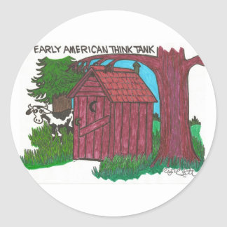 Early American think tank. Stickers