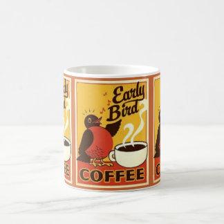 EARLY BIRD,FUNNY COFFEE MUG