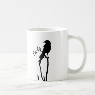 Early Bird Silhouette Mug