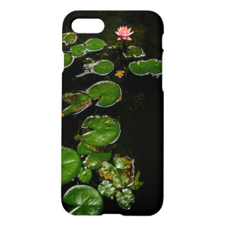 Early bloom in the lily pad pond iPhone 7 case