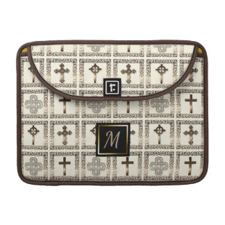 Early Christian Gold Cross Collection Sleeve For MacBook Pro