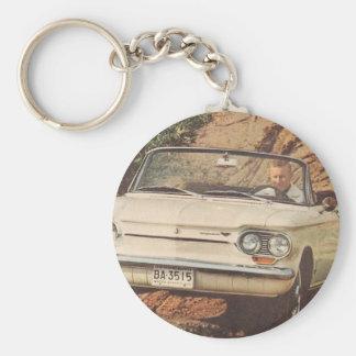 Early Corvair Convertible Key Ring