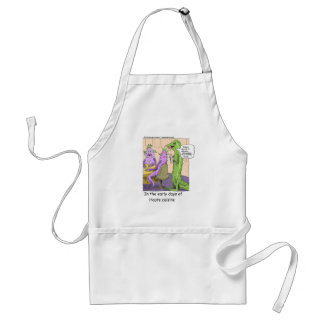 Early Days Of Dining Out Funny Gifts & Tees Standard Apron