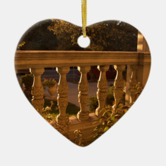 Early Evening Ceramic Ornament