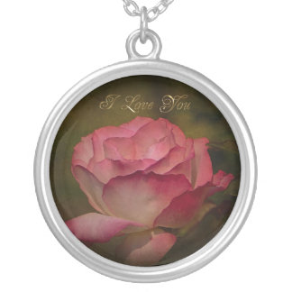 Early Evening Rose Necklace