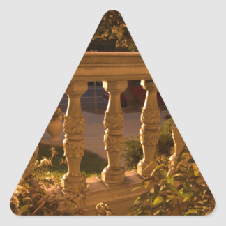 Early Evening Triangle Sticker