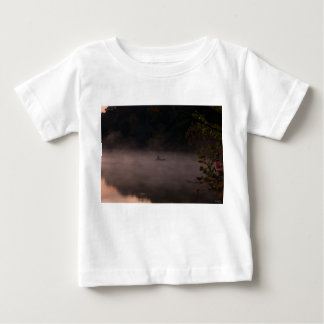 Early Foggy Fishing Baby T-Shirt