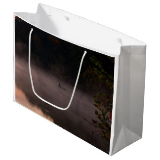Early Foggy Fishing Large Gift Bag