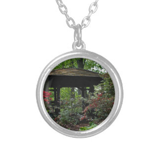 Early in the Morning Silver Plated Necklace