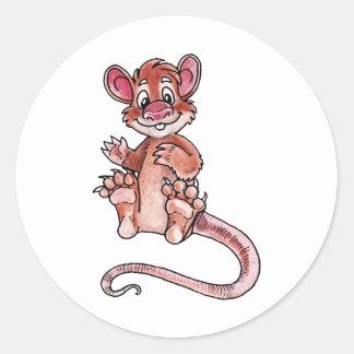 Early Mammal Round Sticker