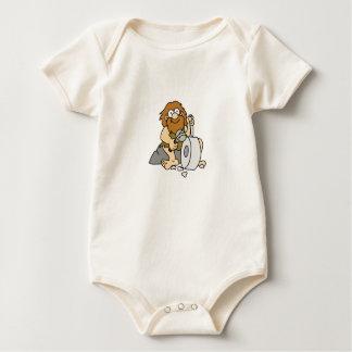 early man works baby bodysuit