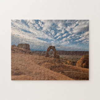 Early Morning at Delicate Arch Puzzles