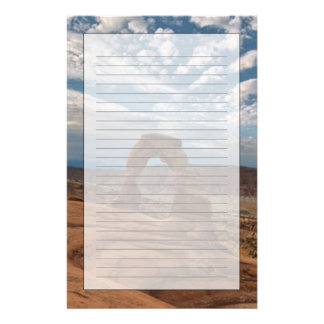 Early Morning at Delicate Arch Stationery Design