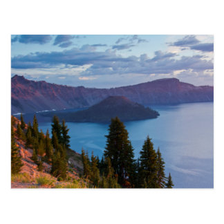 Early Morning, Crater Lake Postcard