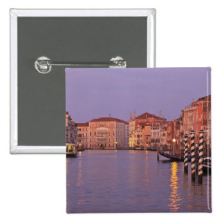 early morning Grand Canal Tour, Venice, Italy 15 Cm Square Badge