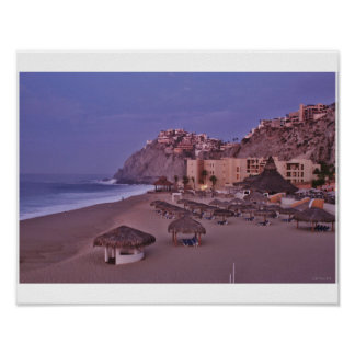Early Morning in Cabo San Lucas Poster