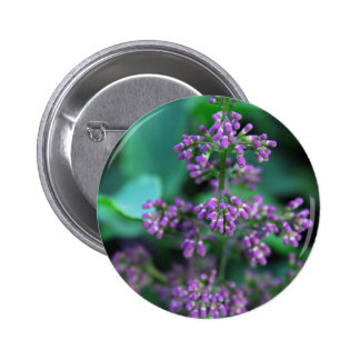 Early Morning Lilacs 6 Cm Round Badge