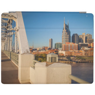 Early Morning On The Shelby Street Bridge iPad Cover