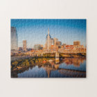 Early Morning Over Nashville, Tennessee, USA Jigsaw Puzzle