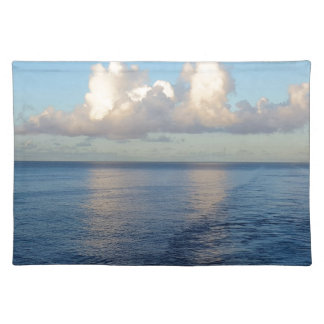 Early morning Seascape Cloud reflections Placemat