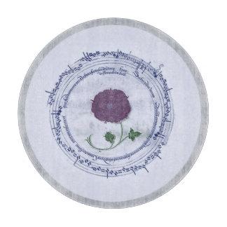 Early Music Manuscript Flower Cutting Boards