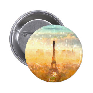 Early Paris Morning Buttons
