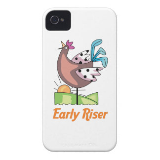 Early Riser iPhone 4 Cover
