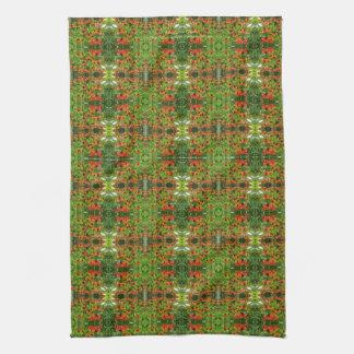 Early Sabin's Flower kitchen towel