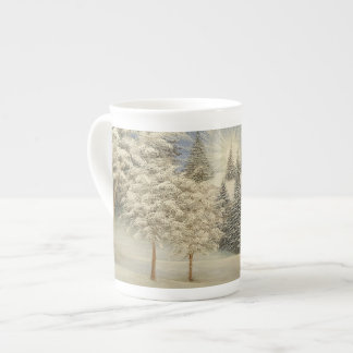 Early Snow Storm Tea Cup