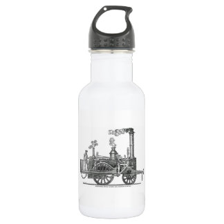 Early Steam Locomotive 532 Ml Water Bottle