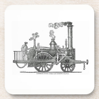 Early Steam Locomotive Coaster
