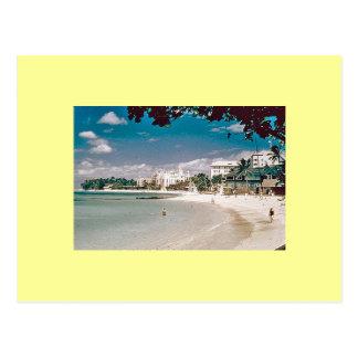 early waikiki postcard
