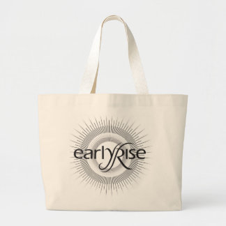EarlyRise Design 2 Jumbo Tote Bag