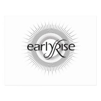 EarlyRise Design 2 Postcard