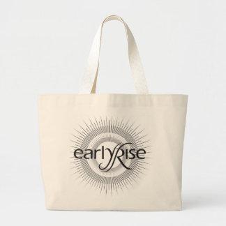 EarlyRise Design 2 Tote Bags