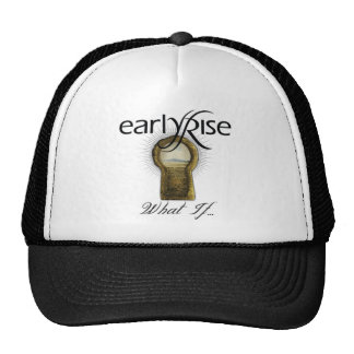 "EarlyRise ""What If"" Design 1 Trucker Hats"