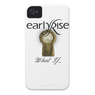 """EarlyRise """"What If"""" Design 1 iPhone 4 Case"""