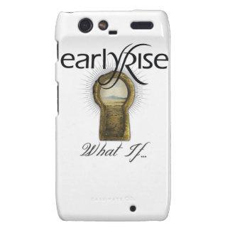 EarlyRise What If Design 1 Motorola Droid RAZR Cases