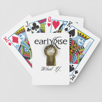 """EarlyRise """"What If"""" Design 1 Playing Cards"""