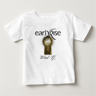 """EarlyRise """"What If"""" Design 1 T-shirt"""