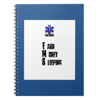 Earn Money Sleeping Notebook
