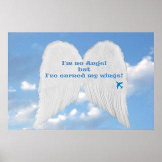 Earned Wings Poster