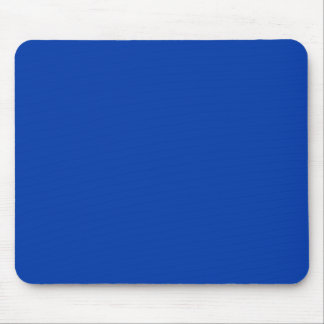 Earnestly Stately Blue Color Mouse Pad
