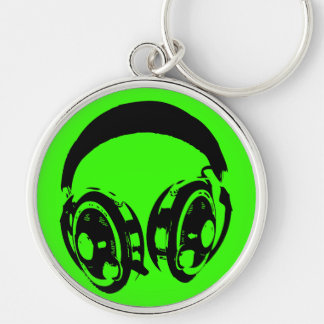 Earphones Key Ring