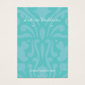 Earring Holder - Business Card |dmsk2bl