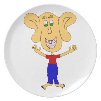 ears dinner plates