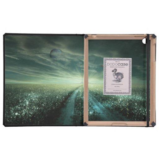 Earth 3.2 iPad folio case