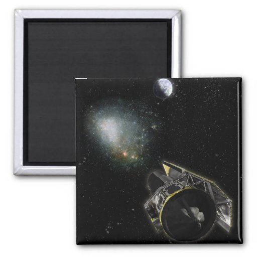 Earth, a Milky Way object Refrigerator Magnet