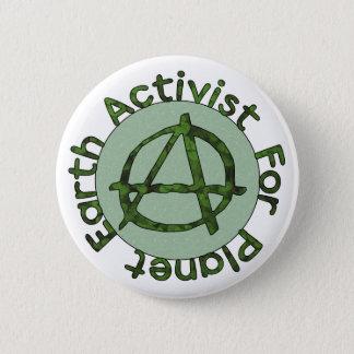 Earth Activist 6 Cm Round Badge