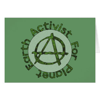 Earth Activist Greeting Card